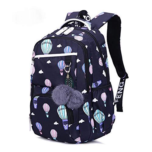 Schoolwaterdichte grote capacitieve rugzak, lichte laptoptas voor scholieren, waterafstotend, gecoat nylon, past zich goed aan je rug aan en is aangenaam om te dragen, 20-35 l