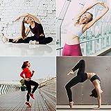 Leggings Completo Fitness Yoga Allenamento Abbigliamento Set Abbigliamento da Palestra BEIFON Completo Sportivo Donna Tuta Sportiva 2 Pezzi Reggiseno Sportivo
