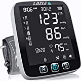 LAZLE JPD-HA101 Blood Pressure Monitor Upper arm, Black/White