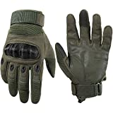 WTACTFUL Touchscreen Motorcycle Tactical Full Finger Gloves for Airsoft...