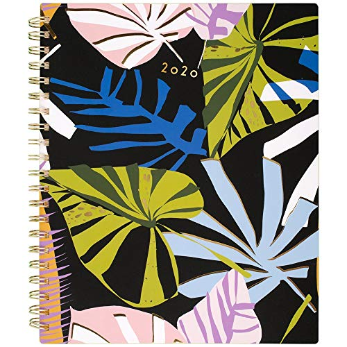 Cambridge® Lillian Farag Paper Palms 8-1/2u0022 x 11u0022 Weekly/Monthly Planner, Multicolor, January to December 2020, 5325-905