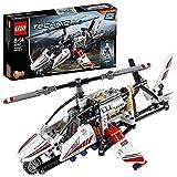 LEGO- Technic Helicopter Elicottero Ultraleggero Costruzioni Piccole Gioco Bambina, Multicolore, 42057