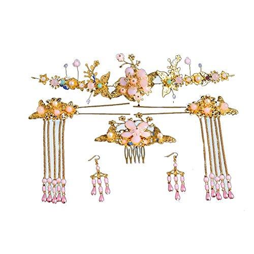 Haarschmuck Set Hochzeitskleid chinesischen Stil Retro Zubehör