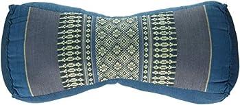 My Zen Home Neck Pillow 14  by 4.50  by 6  Aqua