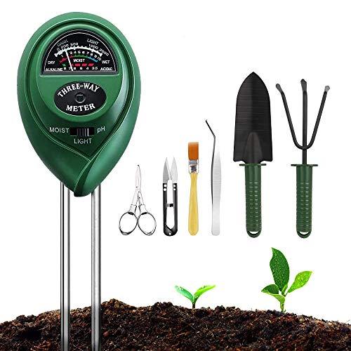 9 | Soil Moisture Meter Sunlight Tester with Upgrade Bonsai Tools
