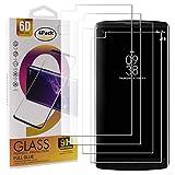Guran 4 Paquete Cristal Templado Protector de Pantalla para LG V10 Smartphone 9H Dureza Anti-Ara?azos Alta Definicion Transparente Película