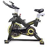 Girar la bici, bicicleta estacionaria bicicleta for ejercicios de resistencia magnética en 8 diferentes etapas con un manillar y asiento ajustables interior silencioso de bicicleta de ejercicios Train