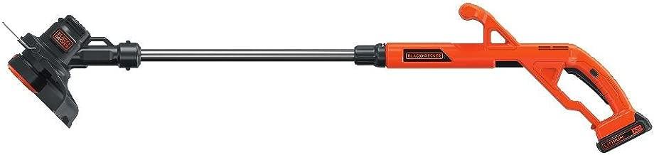 BLACK+DECKER 20V MAX String Trimmer/Edger Kit, 10-Inch (LST201)