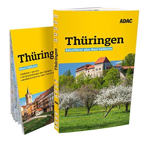 Price comparison product image ADAC Reiseführer plus Thüringen: mit Maxi-Faltkarte zum Herausnehmen