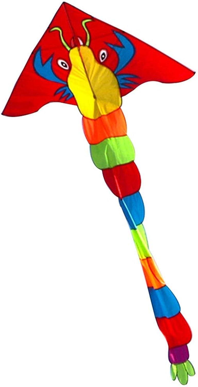Caixia Kite, Dragon Fight prawn Kite in Large Adult kites, Breeze Easy to Fly Beginner kites