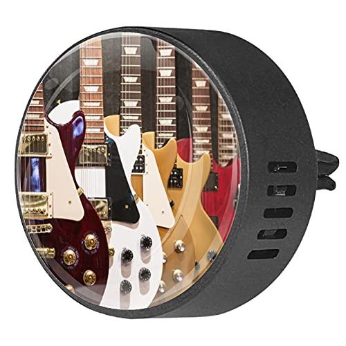 Clip de ventilación para difusor de aromaterapia para automóvil guitarra electrica 2...