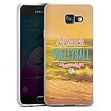 DeinDesign Silikon Hülle kompatibel mit Samsung Galaxy A3 (2016) Case Schutzhülle Volleyball Beach Strand