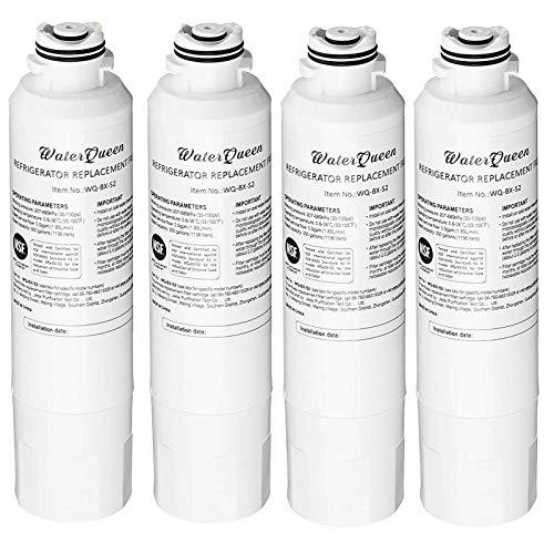 4 filtros de agua helada para nevera Samsung DA29-00020B, DA29-00020A, 04609101000, 09101, 46-9101, 469101, 9101, DA-97-08006A, DA-97-08006A-B, DA-97-08006B.