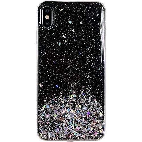WOZINSKY Carcasa para iPhone 8 Plus/iPhone 7 Plus, con purpurina brillante