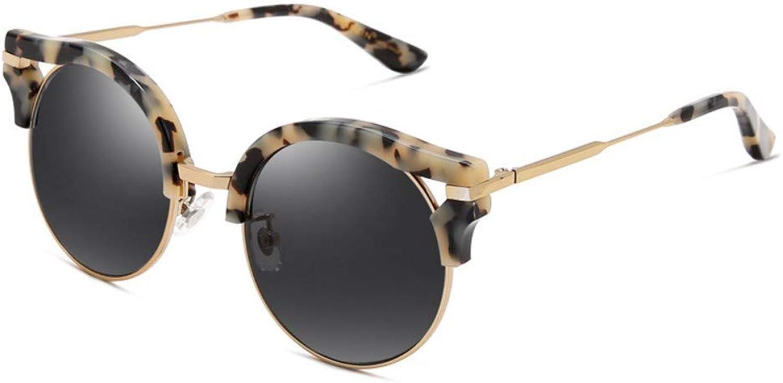 Fashion Sunglasses Ladies Retro Plate colorful Film Trend Female Sunglasses Driving Mirror C