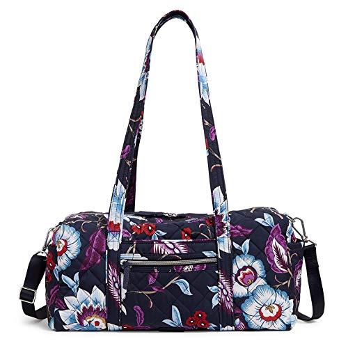 Vera Bradley Women's Performance Twill Small Travel Duffle Bag, Mayfair in Bloom, One Size