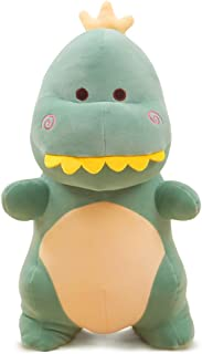 ERDAO Dinosaur Stuffed Animal Toys,Cute Soft Dinosaurs Plush Doll Gifts for Kids Birthday,Valentines (Green, 11.8 inches)
