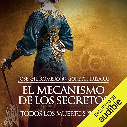 Diseño de la portada del título El Mecanismo de los Secretos