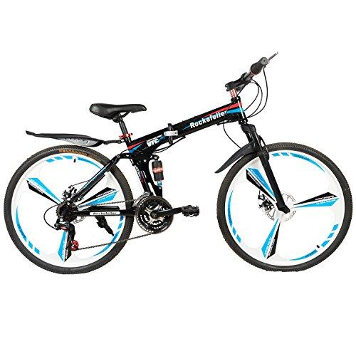 GoGoA1 Rockefeller Foldable Mountain Bike Black