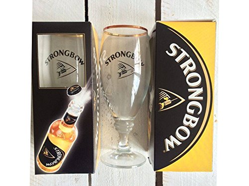 2 x Strongbow Cider glas.