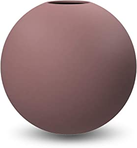 Cooee Design - Vaso sferico in Ceramica, 10 cm, Motivo: Rosa Cinder
