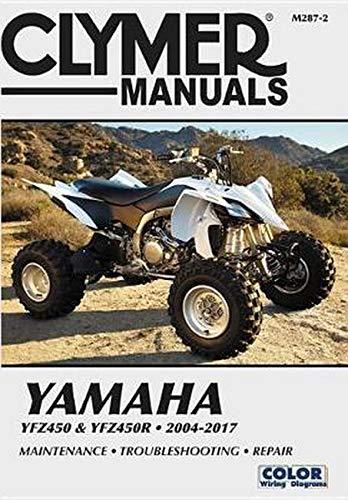Yamaha YFZ450 & YFZ450R 2004-2017 (Clymer Powersport)
