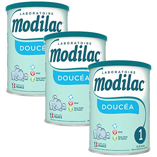 Laboratoire Modilac Lait Infantile en Poudre Doucéa 1er 0-6 mois, 820g