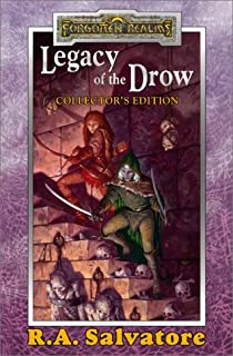 Legacy of the Drow: The Legacy ; Starless Night ; Siege of Darkness ; Passage to Dawn / R.A. Salvatore ; Cover Art, Brom.
