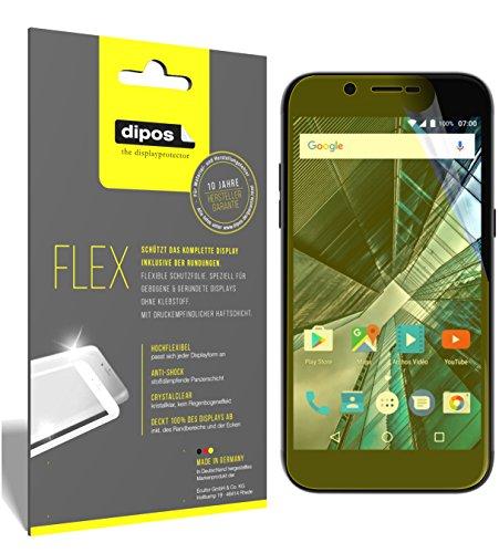 dipos I 3X Schutzfolie 100prozent kompatibel mit Archos 50 Graphite Folie (Vollständige Bildschirmabdeckung) Bildschirmschutzfolie