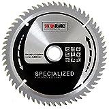 Saxton TCT16560T Lame de scie circulaire sans fil TCT 165 mm x 60 t - Compatible avec Dewalt Makita
