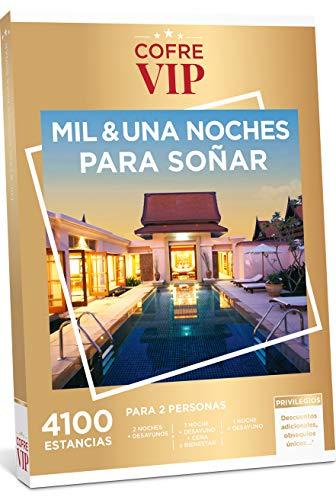 CofreVIP Caja Regalo MIL & UNA Noches para SOÑAR 4.100 estancias a Elegir en España y Europa para Dos Personas.