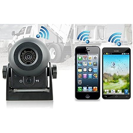 Amazon.fr : YMPA caméra de recul WIFI WLAN Batterie magnétique ...