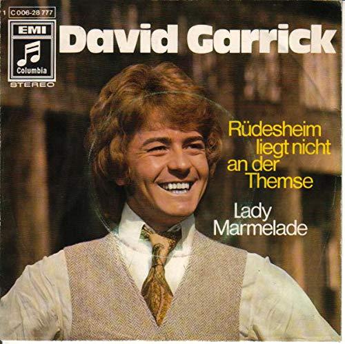 David Garrick - Rüdesheim Liegt Nicht An Der Themse - Columbia - 1C 006-28777, Columbia - 1C 006-28 777