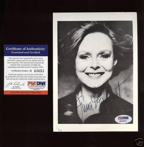 June Lockhart Autographed Photo MINT Condition PSA/DNA Certified