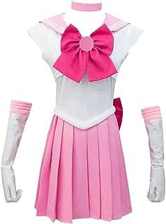 YuHi Women Sailor Moon Series Costume Dress Cosplay Suit