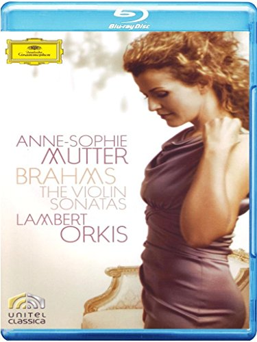 Anne-Sophie Mutter - Brahms: The Violin Sonatas [Blu-ray]