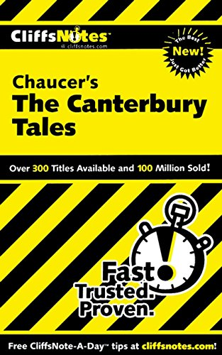 CliffsNotes on Chaucer's The Canterbury Tales (Cliffsnotes Literature Guides) (English Edition)