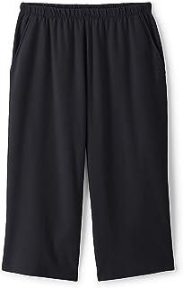 Lands' End Women's Plus Size Sport Knit Elastic Waist...