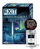 EXIT Das Spiel - Set: Die Station im ewigen EIS + 1x Exit Sticker + 1x Metall-Knobelei