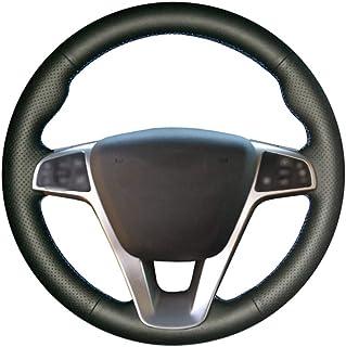 CYBHR Car decoration Auto Accessories handmade Automotive interior Car Steering Wheel Cover,for Lada Vesta 2015 2016 2017