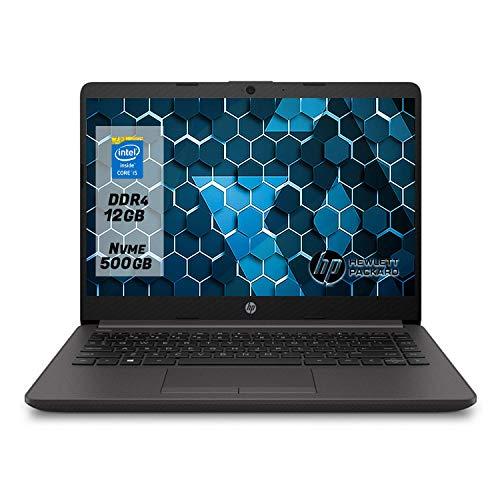 "HP 240 G8, Notebook pc portatile Intel i5 1035g1 fino a 3.60Ghz Display 14 ""FULL HD,12Gb Ram ddr4, Ssd NVMe 500GB,pc portatile Windows 10 Professional"