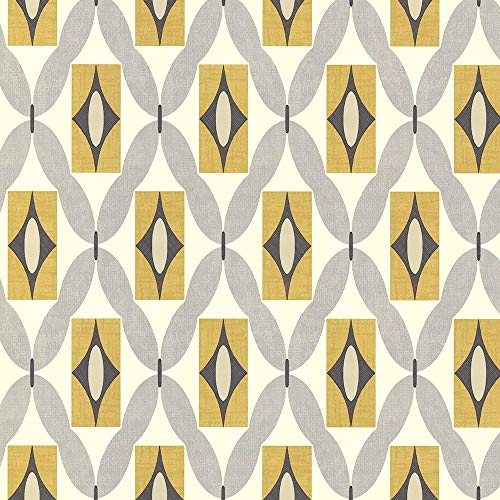 Arthouse Quartz Wallpaper Yellow