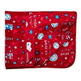 Luvlap Newborn Baby Soft Swaddling Blanket, Red Cars (80cm x 100cm)