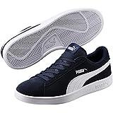 Puma Unisex Adult Smash V2 Low-Top Sneakers, Blue (Peacoat-Puma White 04), 6 UK (39 EU)