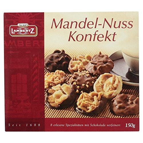 Lambertz Mandel-Nuss-Konfekt, 6er Pack (6 x 150 g)