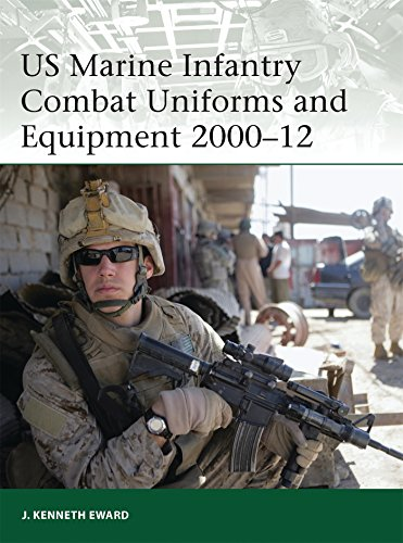 US Marine Infantry Combat Uniforms and Equipment 2000–12 (Elite, Band 190)