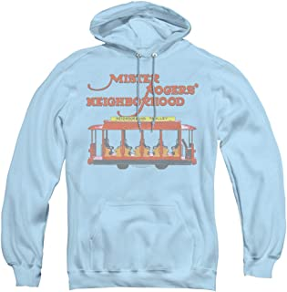 Mister Rogers Trolly Unisex Adult Pull-Over Hoodie for Men and Women