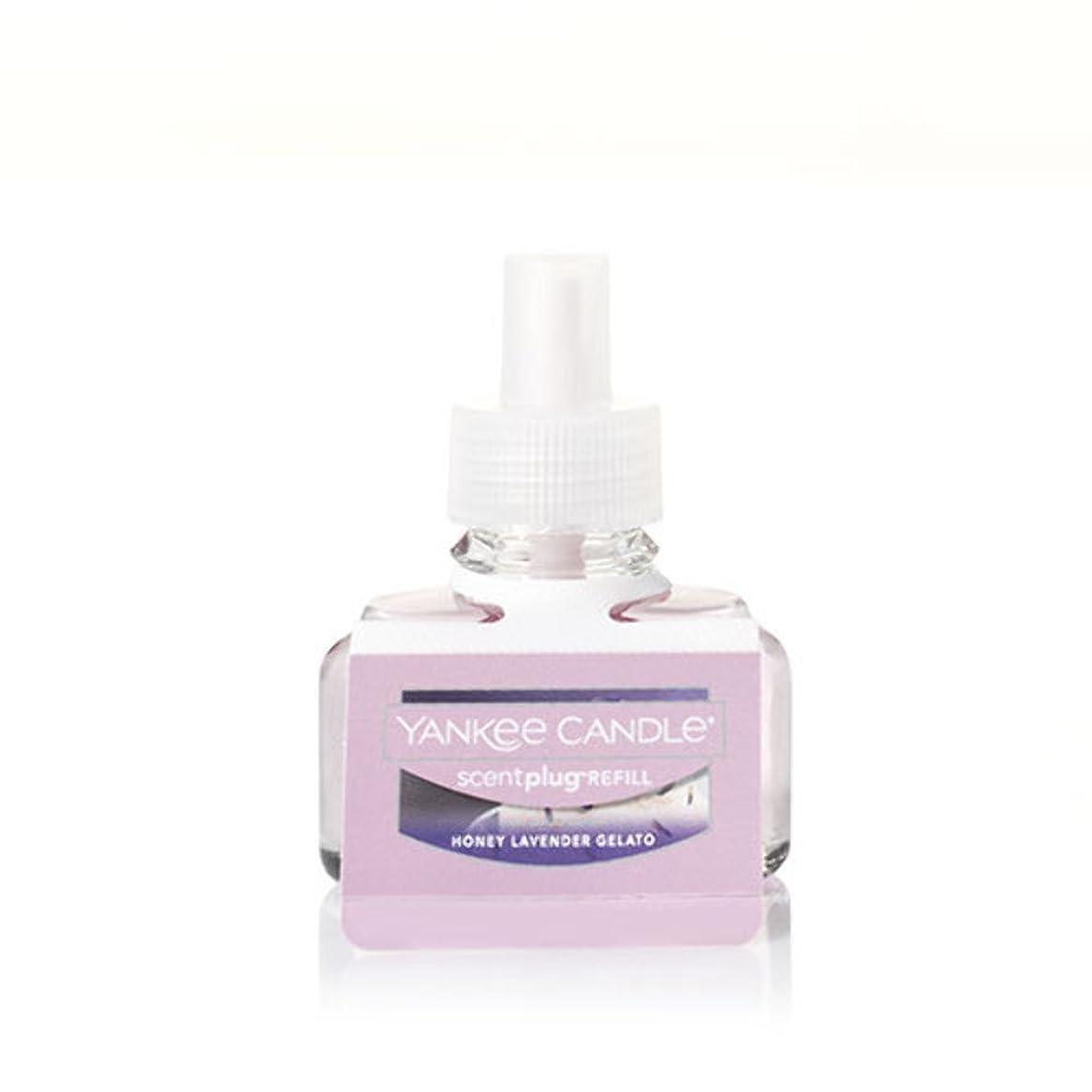 ステートメント現金楽観的Yankee Candle HoneyラベンダーGelato scent-plug Air Freshener Refill