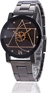 Watch, Men`s Fashion Wrist Watch - Analog Quartz Luxury (Light-Weight) Watch for Man