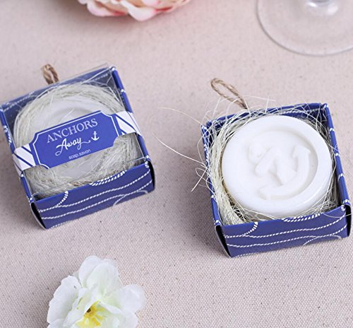 Fantastic Deal! 96pcs Anchors Away Anchor Soap For Wedding & Baby Shower Favors
